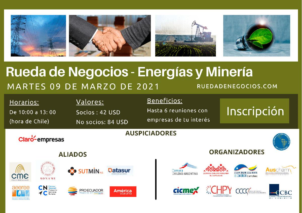 Rueda de Negocio Energía y Minería